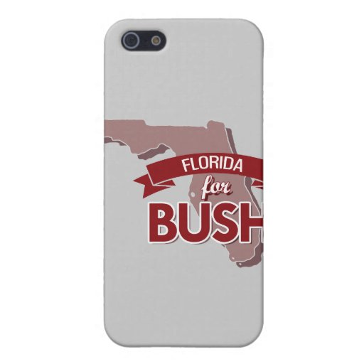 LA FLORIDA PARA BUSH - .PNG iPhone 5 FUNDA