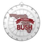 LA FLORIDA PARA BUSH - .PNG TABLERO DE DARDOS