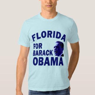 La Florida para la camiseta azul del estado de Poleras