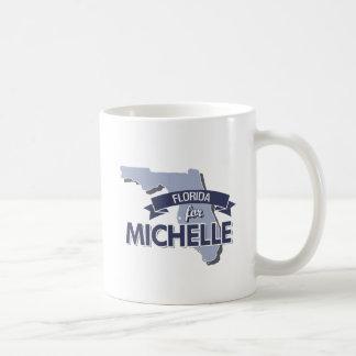 LA FLORIDA PARA MICHELLE - .PNG TAZA BÁSICA BLANCA