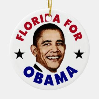 La Florida para Obama Ornamento De Reyes Magos