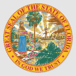 La Florida Pegatinas Redondas