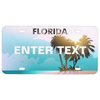 La Florida Placa De Matrícula
