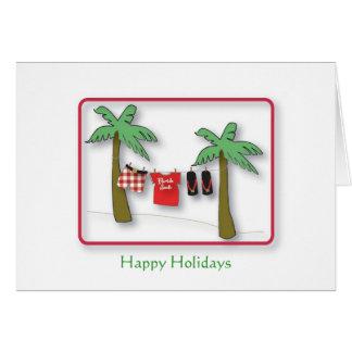 La Florida Santa, buenas fiestas Felicitación