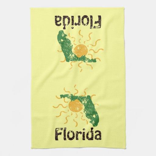 La Florida soleada Toalla