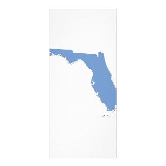 La Florida - un estado azul Tarjeta Publicitaria A Todo Color