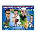 La Florida vota a 4 republicanos Postal