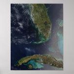 La Florida y Cuba Póster