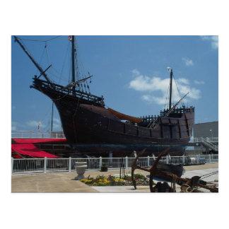 La flota de Columbus Tarjetas Postales