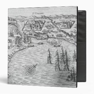 """La flota de Joris van Spilbergen (c.1568-1620) con Carpeta 1 1/2"""""""