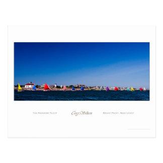 La flota del arco iris, Nantucket Tarjeta Postal