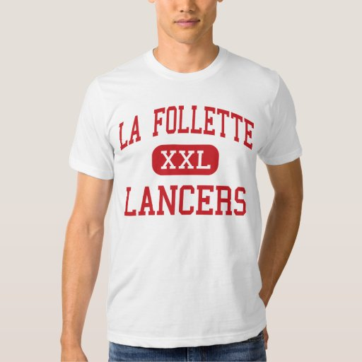 La follette lancers high madison wisconsin t shirt for T shirt printing madison wi