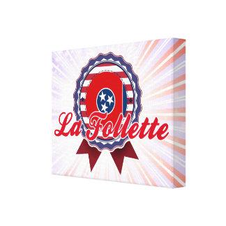 La Follette TN Stretched Canvas Print