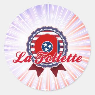 La Follette TN Round Sticker