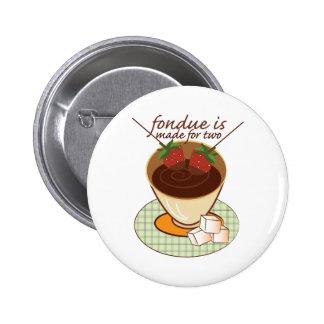"""La """"fondue"""" se hace para dos"""