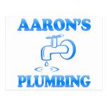La fontanería de Aaron Postal