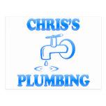 La fontanería de Chris Postal