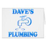 La fontanería de Dave Felicitaciones
