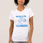 La fontanería de la voluntad camisetas