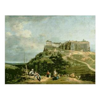 La fortaleza de Konigstein, siglo XVIII Postal
