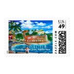 La Fortaleza, San Juan, Puerto Rico Postage Stamp