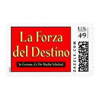 La Forza Del Destino Postage Stamps