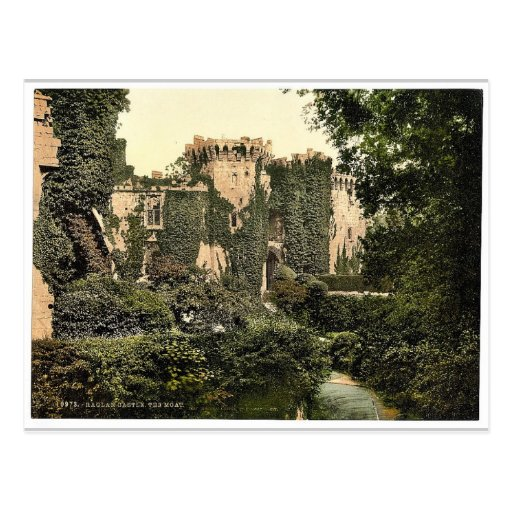La fosa, castillo del raglán, foto magnífica de In Postales