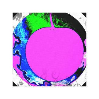 La foto abstracta de la cereza corrige impresion de lienzo