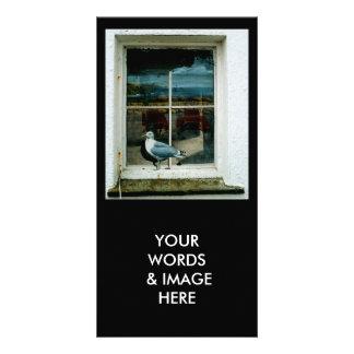 LA FOTO CARDA EL PIPE USTED LAS PALABRAS E IMAGE TARJETAS PERSONALES CON FOTOS