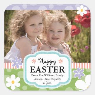 La foto de encargo de Pascua etiqueta la margarita