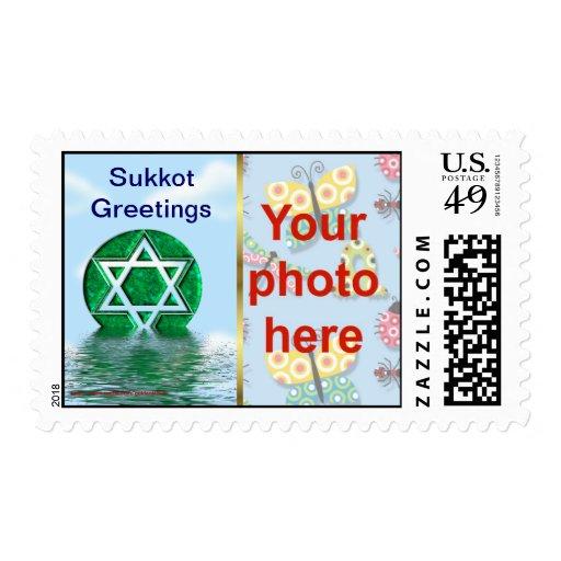 La foto de encargo del día de fiesta judío de envio
