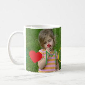 La foto de encargo del día de madre de los niños taza