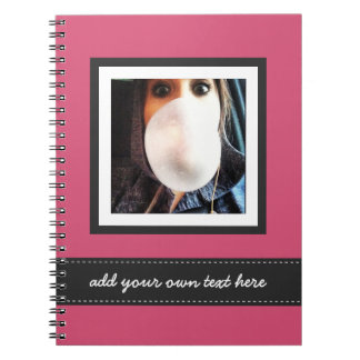 La foto de Instagram de la diversión personalizada Notebook