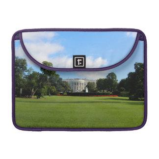 La foto de la Casa Blanca Fundas Para Macbook Pro