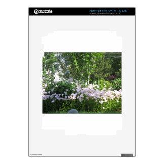 La foto de la naturaleza florece la DIVERSIÓN de Pegatina Skin Para iPad 3
