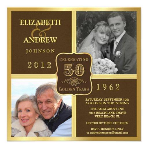 La foto de la suposición 2 del aniversario del vin invitacion personalizada