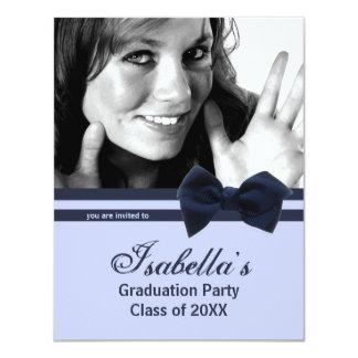 La foto de moda de la fiesta de graduación del invitación personalizada