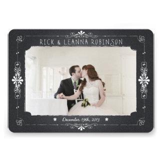 La foto del boda del tarro de albañil de la pizarr comunicados personales