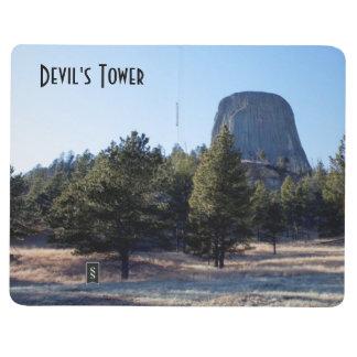 La foto del monumento nacional de la torre del dia cuaderno