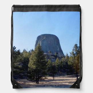 La foto del monumento nacional de la torre del dia mochila