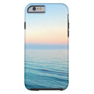 La foto hermosa de la playa o añade su propio funda para iPhone 6 tough