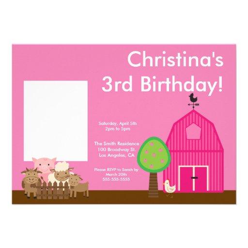 La foto linda del cumpleaños de los animales del c