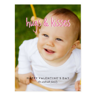 La foto linda del día de San Valentín abraza los Postal