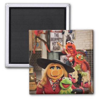 La foto más deseada 1 de los Muppets Imán Cuadrado