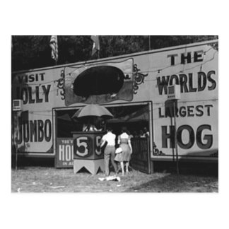 La foto más grande del carnaval del vintage del ce postales