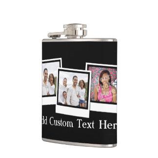 La foto personalizada 3-Photo enmarca color de enc Petaca