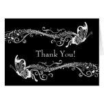 La foto personalizada las mariposas musicales le a tarjeta