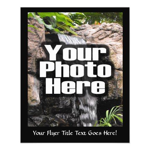 """La foto personalizada personalizado de Digitaces Folleto 4.5"""" X 5.6"""""""