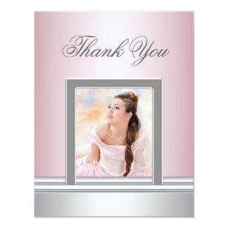 La foto rosada le agradece cardar RSVP de uso Comunicado