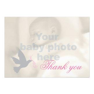 La foto rosada oscura del bautismo de los chicas d comunicado